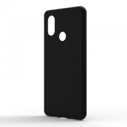 Чехол-накладка Xiaomi Mi 8 Lite Monochromatic Black
