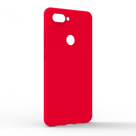 Чехол-накладка Xiaomi Mi8 Lite Monochromatic Red