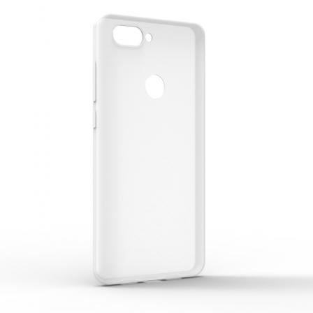 Чехол-накладка Xiaomi Mi8 Lite Monochromatic White