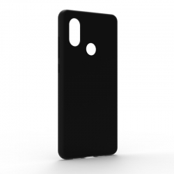 Чехол-накладка Xiaomi Mi8 Monochromatic Black
