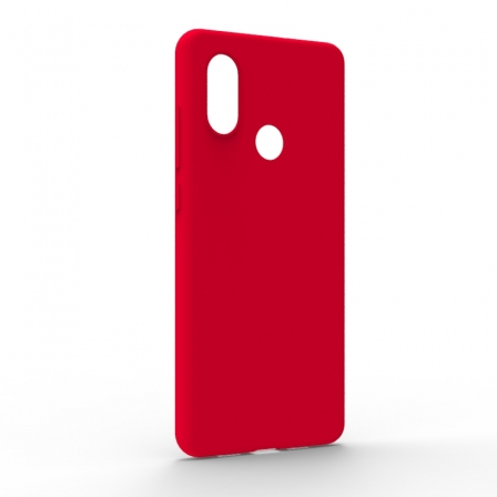 Чехол-накладка Xiaomi Mi8 Monochromatic Red