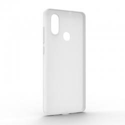 Чехол-накладка Xiaomi Mi8 Monochromatic White