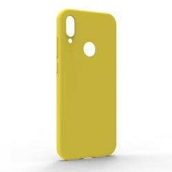 Чехол-накладка Xiaomi Redmi Note 7 Monochromatic Yellow