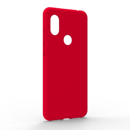 Чехол-накладка Xiaomi Redmi Note 6 Pro Monochromatic Red