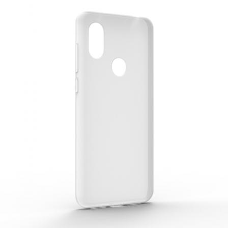 Чехол-накладка Xiaomi Redmi Note 6 Pro Monochromatic White