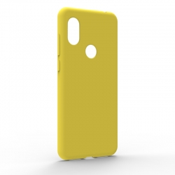 Чехол-накладка Xiaomi Redmi Note 6 Pro Monochromatic Yellow