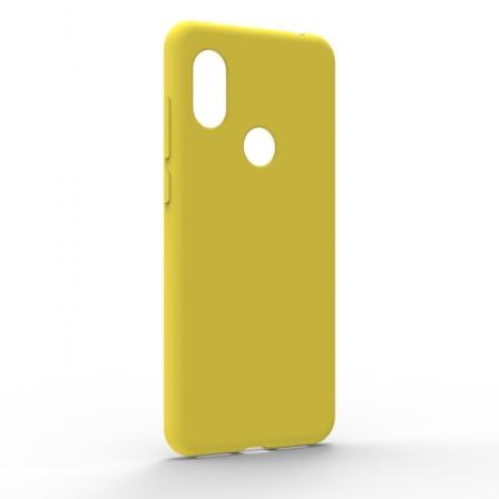 Чехол-накладка Xiaomi Redmi Note 6 Pro Monochromatic Yellow