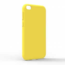 Чехол-накладка Xiaomi Redmi Go Monochromatic Yellow