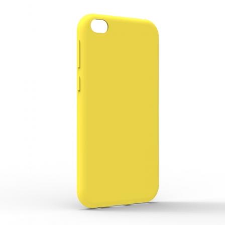 Чехол-накладка Xiaomi Redmi Go Monochromatic Yellow