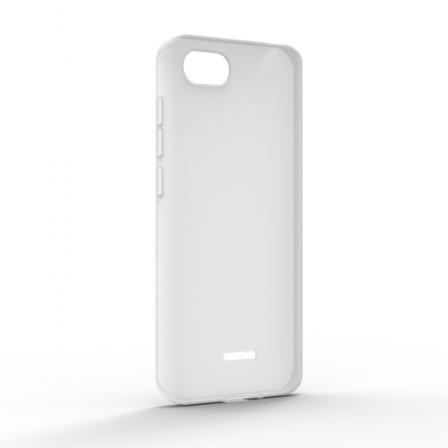 Чехол-накладка Xiaomi Redmi 6A Monochromatic White