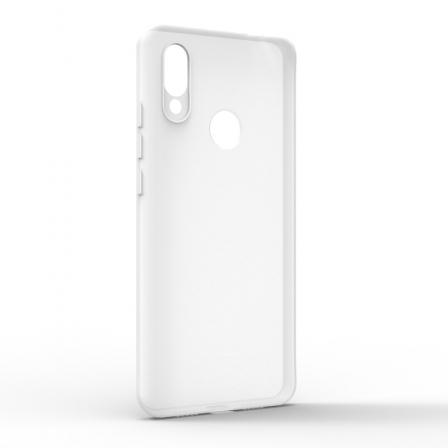 Чехол-накладка Xiaomi Redmi 7 Monochromatic White