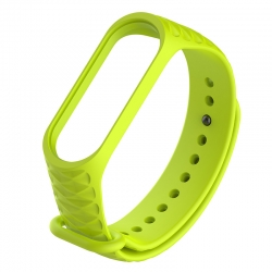 Ремінець Xiaomi Mi BAND 3 Pattern Lime