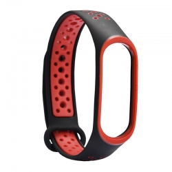 Ремешок Xiaomi Mi BAND 3 Apple Style Black-Red