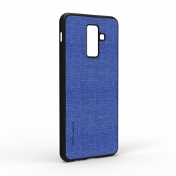 Чехол-накладка Samsung Galaxy A6 Plus (A605) Blue