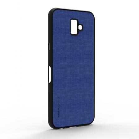 Чехол-накладка Jeans Samsung Galaxy J6 Plus 2018 Blue