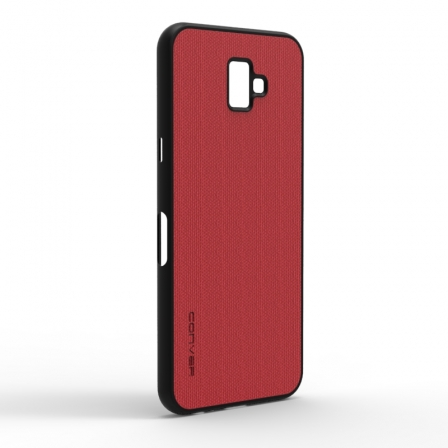 Чохол-накладка Jeans Samsung Galaxy J6 Plus 2018 Red