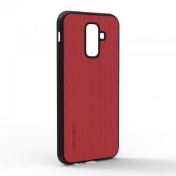 Чехол-накладка Jeans Samsung Galaxy J8 2018 Red