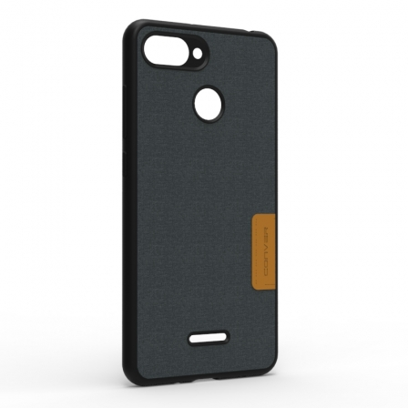 Чохол-накладка Jeans Xiaomi Redmi 6 Black