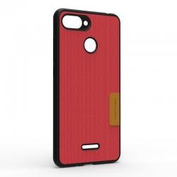 Чохол-накладка Xiaomi Redmi 6A Monochromatic Red