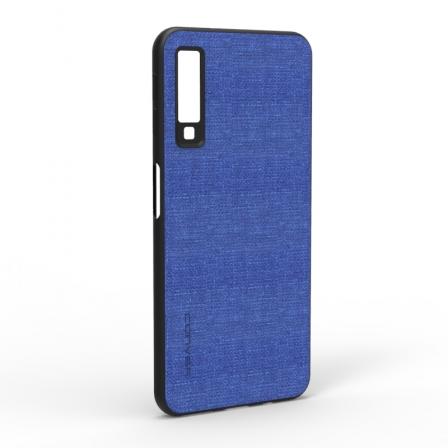 Чехол-накладка Jeans Samsung Galaxy A7 2018 Blue