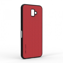 Чехол-накладка Jeans Samsung Galaxy J6 2018 Red