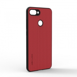 Чехол-накладка Jeans Xiaomi Mi8 Lite Red
