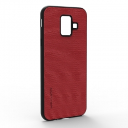 Чохол-накладка Jeans Samsung Galaxy A6 2018 Red