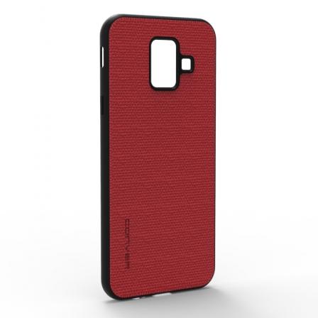 Чехол-накладка Jeans Samsung Galaxy A6 2018 Red