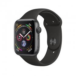 Смарт-часы Apple Watch Series 4 44mm Space Gray Aluminum Case with Black Sport Band MU6D2