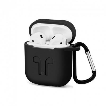 Чехол для наушников Apple AirPods Black