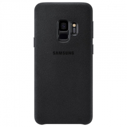 Чохол-накладка Samsung Galaxy S10 Plus Alcantara Black