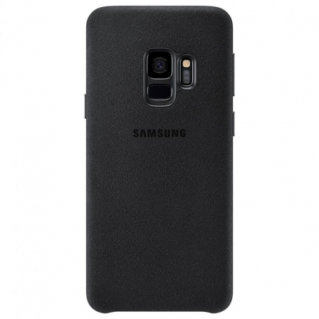 Чехол-накладка Samsung Galaxy S10 Plus Alcantara Black