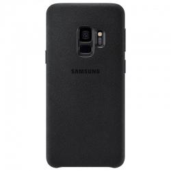 Чехол-накладка Samsung Galaxy S10 Alcantara Black