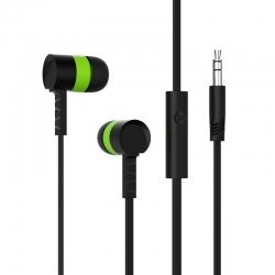 Навушники Celebrat D2 Black-Green