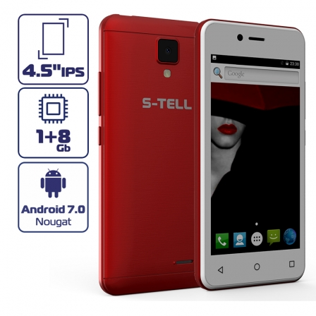 S-TELL M458 Red (Уценка)