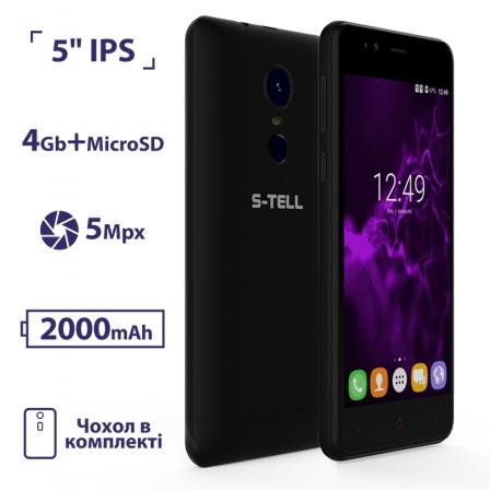 S-TELL C552 Black (Уцінка)