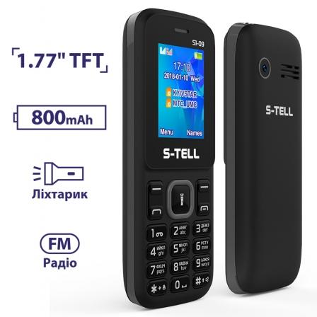 S-TELL S1-09 Black