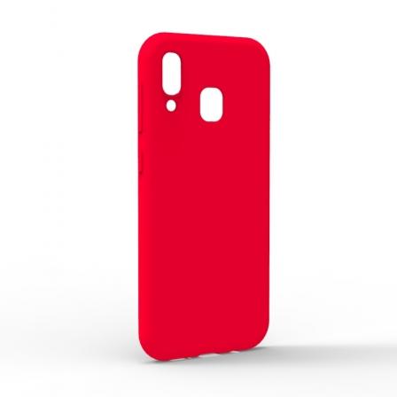 Чехол-накладка Samsung Galaxy A20 Monochromatic Red