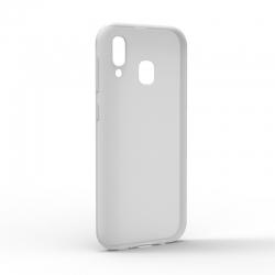 Чехол-накладка Samsung Galaxy A20 Monochromatic White