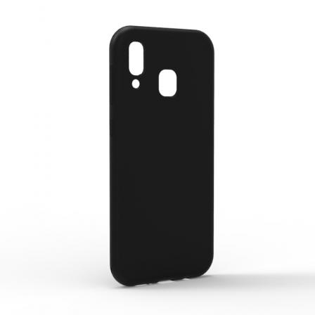 Чехол-накладка Samsung Galaxy A30 Monochromatic Black