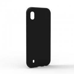 Чехол-накладка Samsung Galaxy A10 Monochromatic Black