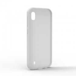 Чехол-накладка Samsung Galaxy A10 Monochromatic White