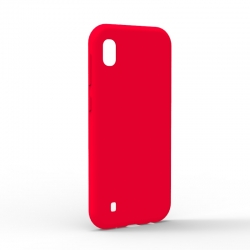 Чехол-накладка Samsung Galaxy A10 Monochromatic Red