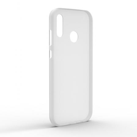 Чехол-накладка Huawei P Smart 2019 Monochromatic White