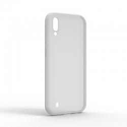 Чехол-накладка Samsung Galaxy M10 Monochromatic White
