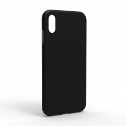 Чехол-накладка iPhone XS Monochromatic Black