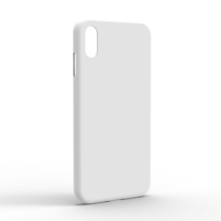 Чехол-накладка iPhone XS Monochromatic White