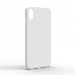 Чехол-накладка iPhone XS Max Monochromatic White