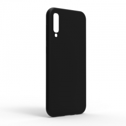 Чехол-накладка Samsung Galaxy A70 Monochromatic Black