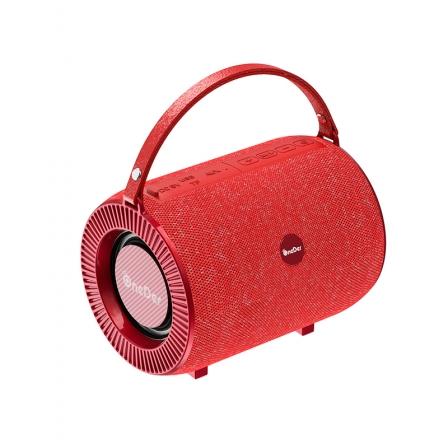Портативна Bluetooth-колонка One Der V3 Red